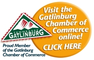 Proud Member of the Gatlinburg Chamber of Commerce